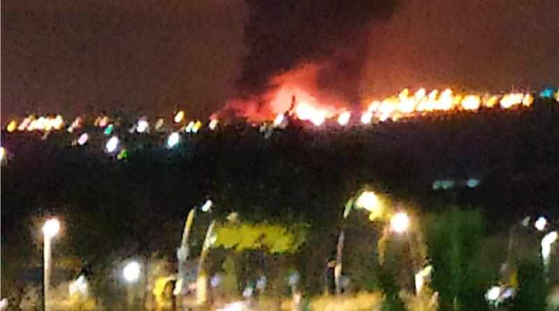 Incendio tra Andria e Barletta