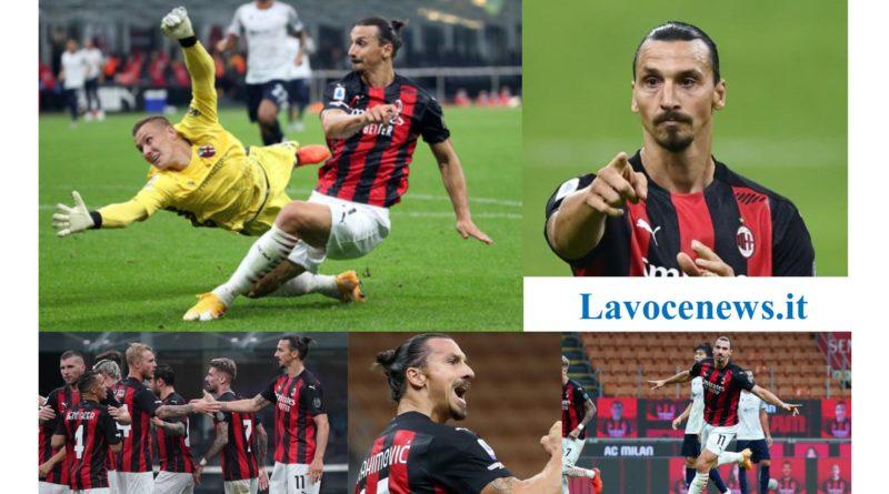 Milan-Bologna 2-0