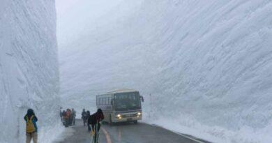 La neve al nord Italia