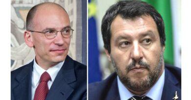 Nuovo scontro Letta Salvini