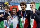 Tokyo: bronzo per gli azzurri  nella 4X100 misti di nuoto