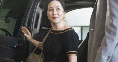 Lady Huawei torna in Cina