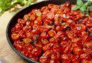 Pomodorini al forno, se volete anche con la pasta